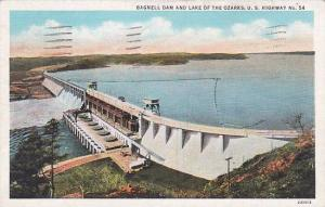 Missouri Lake Of The Ozarks Bagnell Dam And Lake Of The Ozarks U S Highway 1936