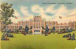 Senior High School Little Rock, Arkansas AR, Linen