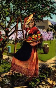 CPA Cote d'Azur Cueillette des Oranges et des Citrons FOLKLORE (731817)