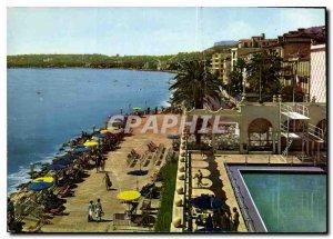 Modern Postcard The French Riviera Menton Promenade Cap Martin saw his Casino...
