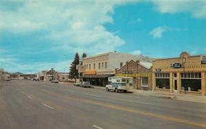 SPRINGERVILLE, AZ Arizona  STREET SCENE  Ford~Becker Motor Co~Rexall Drug Chrome