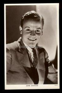 b1623 - Film Actor - John Darrow - Picturegoer No.736 - postcard