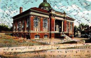 North Carolina Greensboro Public Library 1908 Rotograph