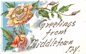 Greetings from Middletown, New York Postcard