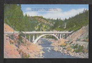 Bridge,Payette River,Boise McCall Highway,ID Postcard