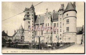 Old Postcard Bourges Facade Sud Du Palais Jacques Coeur