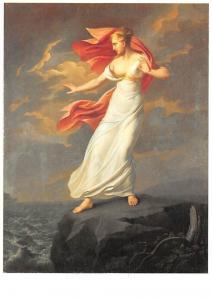 Franz Gerhard von Kugelgen, Ariadne auf Naxos Postcard