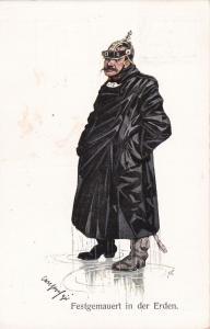 German Kaiser Wilhelm II , Festgemauert in der Erden , 00-10s
