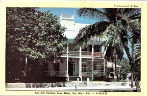 Chrome HOUSE SCENE Key West Florida FL AH7528