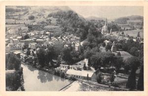 France Lourdes La Basilique et Chutes du Gave Panorama General view