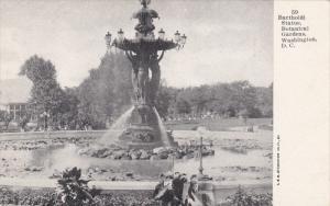 WASHINGTON D.C., 1900-1910´s; Bartholdi Statue, Botanical Gardens