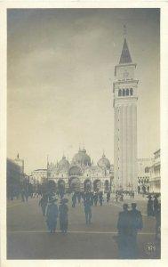 Postcard Italy Venice Campanella