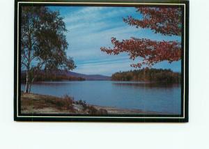 Postcard  New Hampshire Bristol Beach West Shore Road Greetings Card  # 4436A
