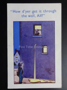 Trow: Drunk HOW DO YOU GET IT THROUGH THE WALL ALF?..