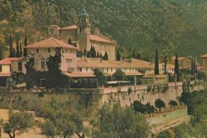 Valldemosa Monk Monks Monastery Carthusian Mallorca Spanish Postcard