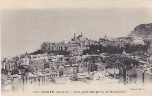 Vue Generale Prise De Beausoleil, MONTE-CARLO, Monaco, 1900-1910s