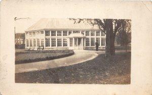 H78/ Washington D.C. RPPC Postcard c1910 Greenhouse? Conservatory ? 167
