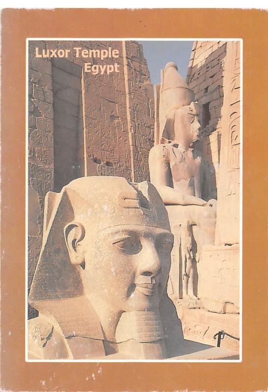 Egypt Luxor Temple Statues
