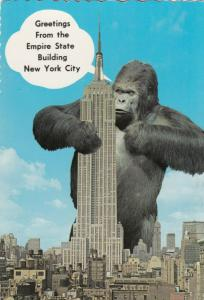 NEW YORK CITY , 60-70s ; Empire State Building & King Kong
