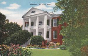 Rosalie Headquarters Of The Union Army Natchez Mississippi