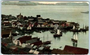 HAMMERFEST, NORWAY   The Most Northerly City in the World   1912  Postcard
