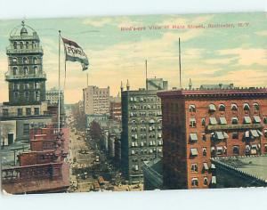 Divided Back STREET SCENE Rochester New York NY hs3769