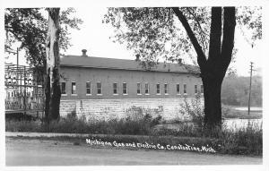 Constantine Michigan Gas & Electric~Transformer Substation RPPC