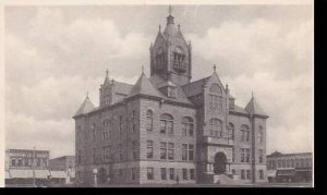Missouri Kirksville Adair County Court House Albertype