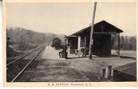 Woodbury, Long Island R..R. Station