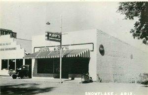 AZ, Snowflake, Arizona, Kay's, RPPC
