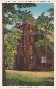 North Carolina Roanoke Island Little Chapel On Fort Raleigh Reservation