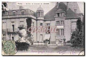 Old Postcard Vichy House of Madame de Sevigne