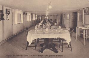 HopitalSt Jean-de-Dieu, Quebec , Canada , 00-10s : Salle a manger des gardes-mal