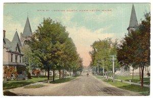 Farmington, Maine, Main St. Looking North
