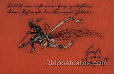 Krampus, Devil, Postcards Post Card