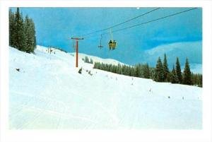 Ski Lift, Powder Snow in Canada, 40-60s