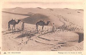 Bou Saada Egypt, Egypte, Africa Passage dans les Dunes de Sable Bou Saada Pas...