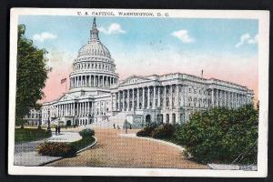 US Capital Building, Washington, DC - Used 1930