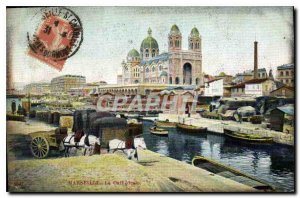 Postcard Old Marseille Cathedrale