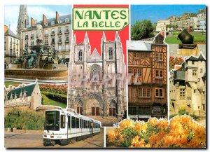 Postcard Modern NANTES Place Royale