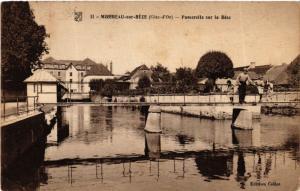 CPA Mirebeau-sur-Béze (Cote-d'Or) - Passerekke sur la Béze (586176)