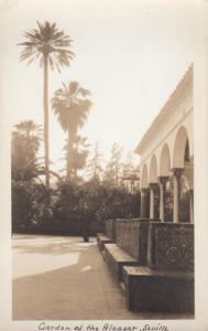 RP: Courtyard View, Garden of the Aleazar, Seville, Andalucia, Spain, 1910-20s