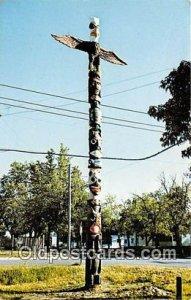 Totem Pole Cass Lake, Minnesota, USA Totem Pole Unused