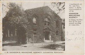LEXINGTON KY - HANSON'S MAGAZINE AGENCY Building 1907 / Hanson Block / FLAG