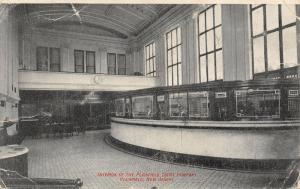 Plainfield New Jersey~Plainfield Trust Company Interior~Bank Teller Cages~1910