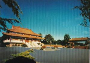 Canada View Of The Temple International Buddhist Society Ruchmond British Col...