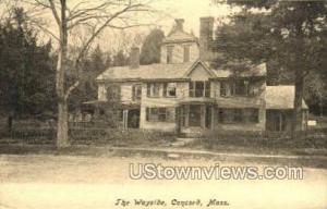 The Wayside Concord MA Unused