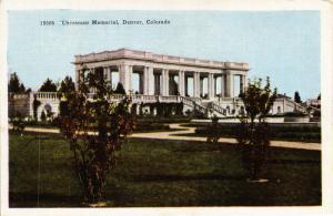 CHEESMAN MEMORIAL DENVER COLORADO