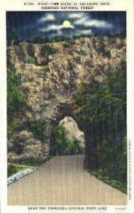 Backbone Rock - Cherokee National Forest, Tennessee