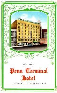 New York City New Penn Terminal Hotel